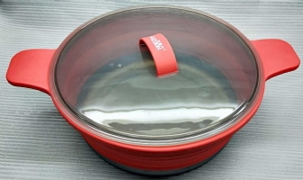 """Foldable Silicone Pan 25.5cm (10"""")"""