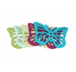 butterfly shape silicone table potholder , creative silicone table decoration