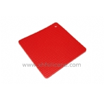 foursquare honeycomb  silicone table mat
