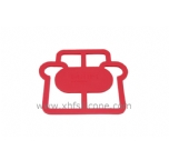 electric cooker shape silicone table  potholder