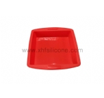 high-capacity square silicone cake mould
