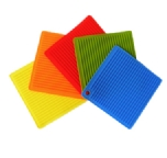 square shaped silicone mats