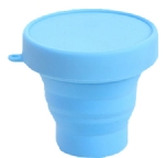 silicone cup with silicone lid