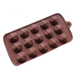 round silicone chocolate mold