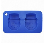 two holes silicone cake mould