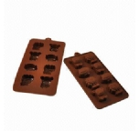 Silicone chocolate moulds