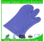 3 fingers silicone gloves