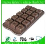 square silicone  chocolate mould