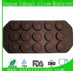 round-shape silicone chocolate mould