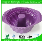 high-capacity silicone cake mould