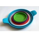 Silicone Foldable Pot/dish set